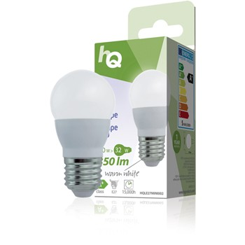 LED lamp 5W warm white