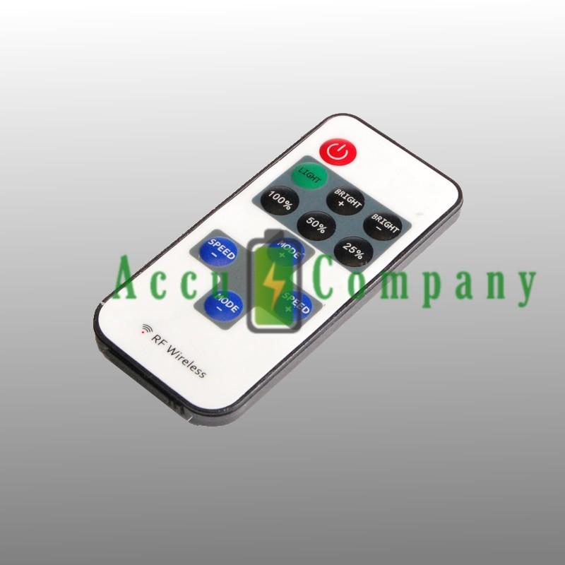 Controller/dimmer met afstandbediening voor LED strips met één kleur