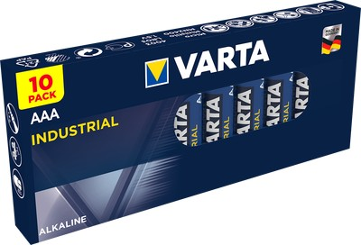 8x AAA Varta High Energy Alkaline Batteries 1.5V LR3