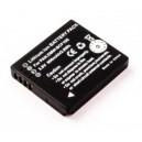 Vervangende Panasonic CGA-S/106C Lumix DMC accu