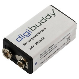 Oplaadbare batterij 9V E-Block 220 mAh