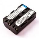 SONY NP FM500H LI-ION 7.4V 1600mAh vervangende accu