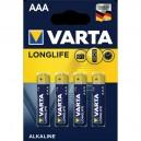 4x AAA Varta High Energy Alkaline Batterijen 1,5V  LR3