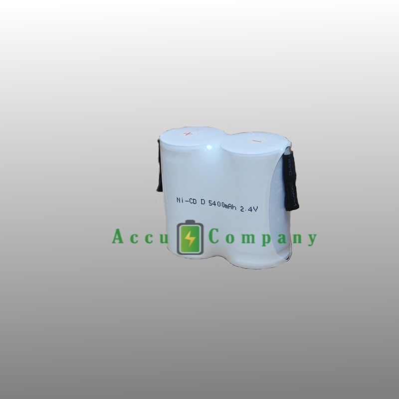 Emergency lighting 2.4V 5.4Ah Type C