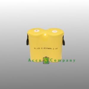Noodverlichting 2.4V 4.5Ah Type D