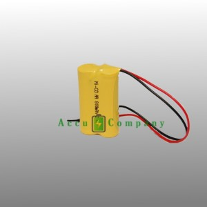 Emergency lighting 2.4V 800mAh Type AA
