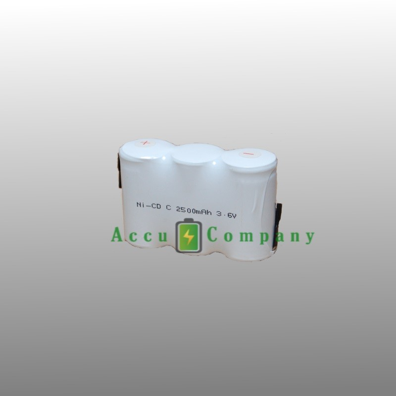 Emergency lighting 3.6V 2.5Ah Type C