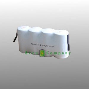 Emergency lighting 4.8V 2.1 Ah Type C