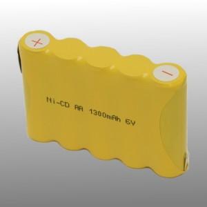 Noodverlichting 6V 1.3Ah Type AA