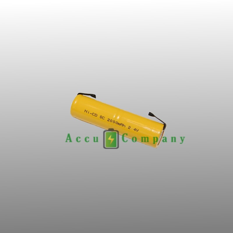 Emergency lighting 2.4V 2.0Ah Type S / C