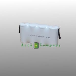 Accu NiMH 4.8V 2.1 Ah voor noodverlichting