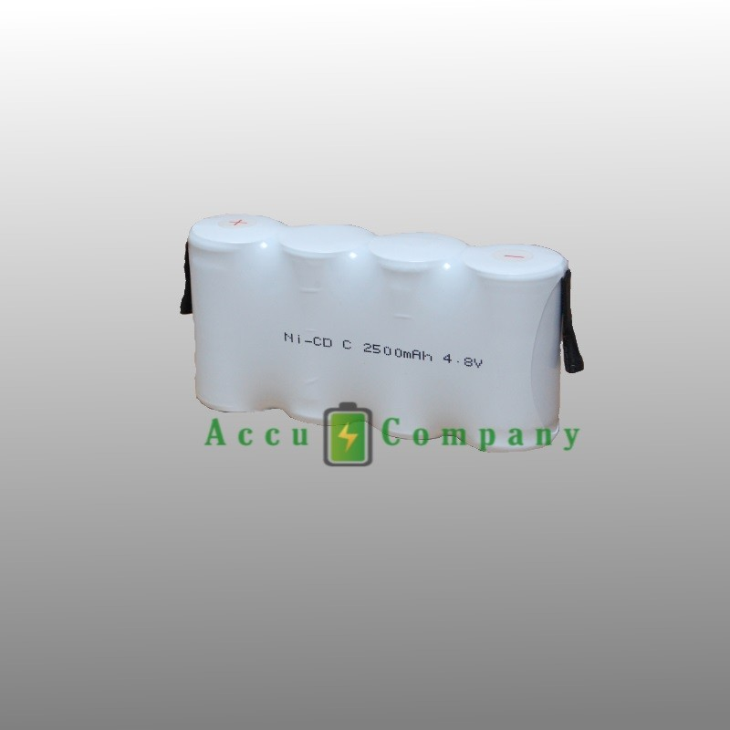 Emergency lighting 4.8V 2.5Ah Type C