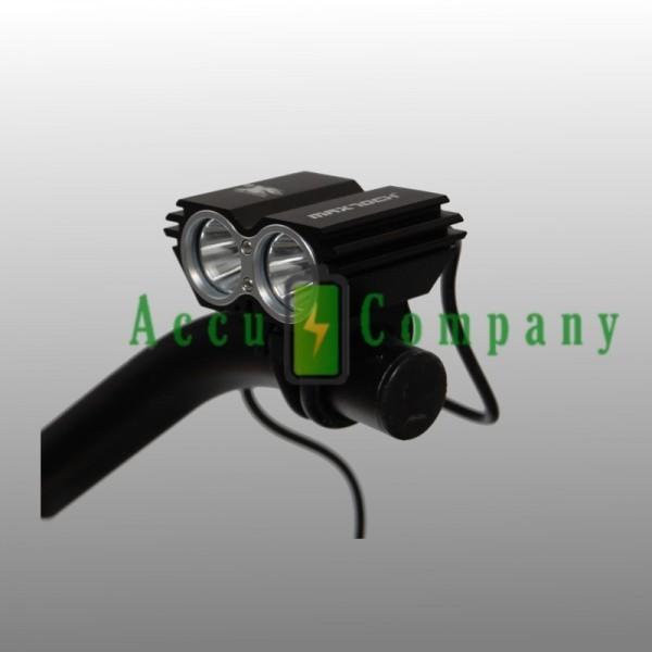 MTB LED Fietsverlichting 1600 Lumen