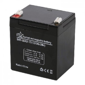 HQ Rechargeable Lead-acid Battery 12V 5Ah