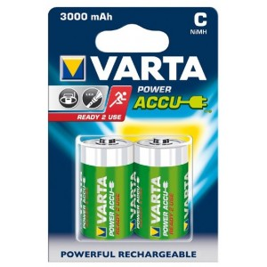 2 x 1.2V 3000mAh rechargeable battery HR20