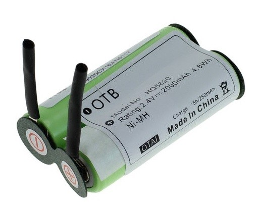 Battery for Philips shaver 138 10609 2.4V 2Ah NiMH