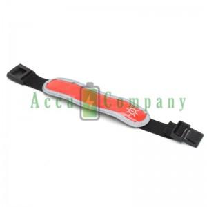 LED hardlooparmband met reflector en fiber licht