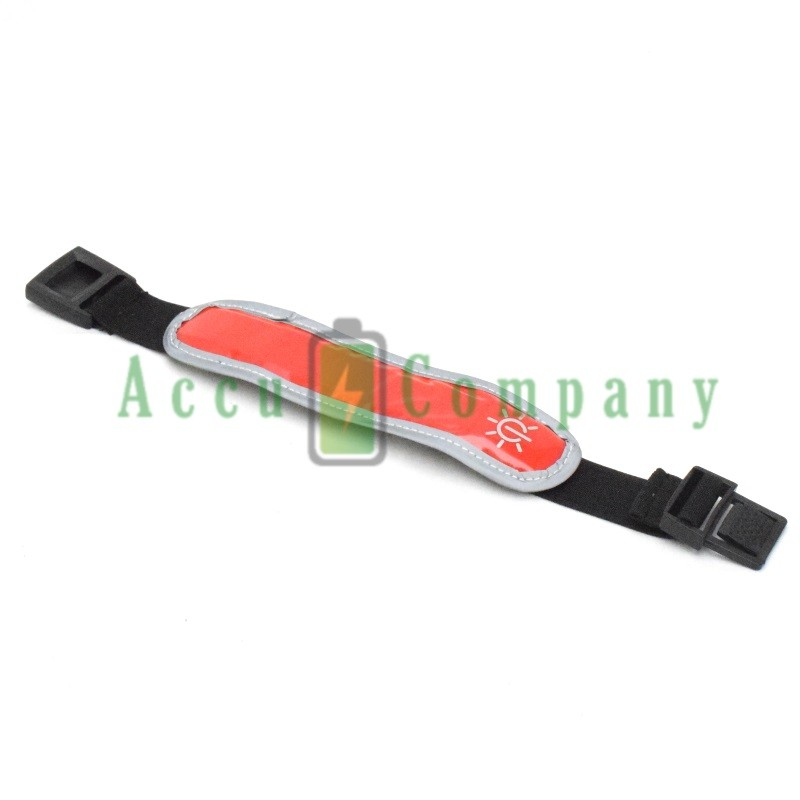 Reflecterende LED hardloop armband