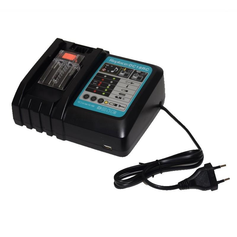 Makita charger DC18RC 14.4V ~ 18V Li-ion battery