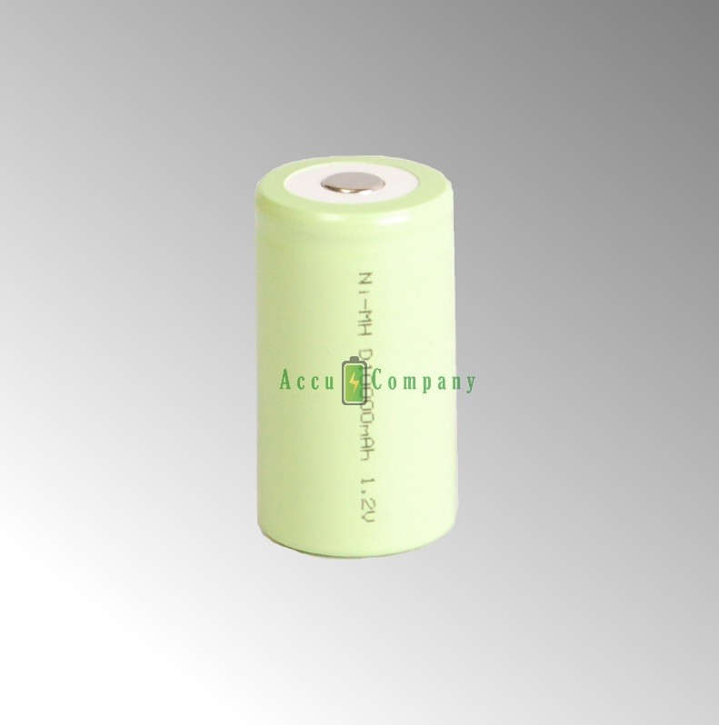Rechargeable battery type D-cell 10Ah NiMH