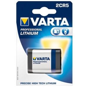 Varta 2CR5 6V 1600mAh battery photo