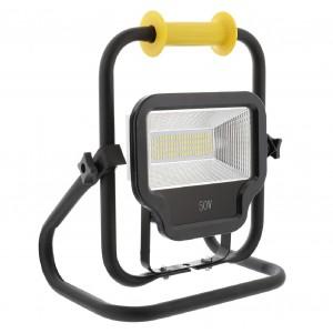 LED bouwlamp draagbaar 50 W 4000 lumens