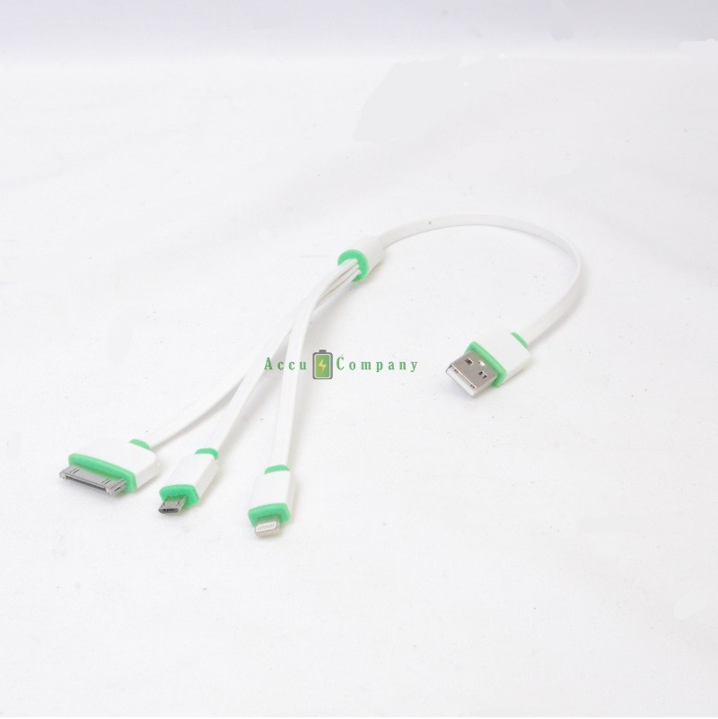 Lightning cable iPhone Samsung 38cm