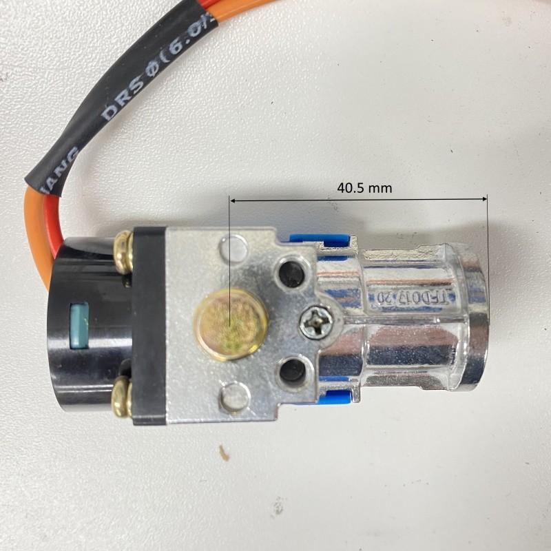 Bike lock for e-bike battery