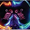Lichtgevende LED schoenveters