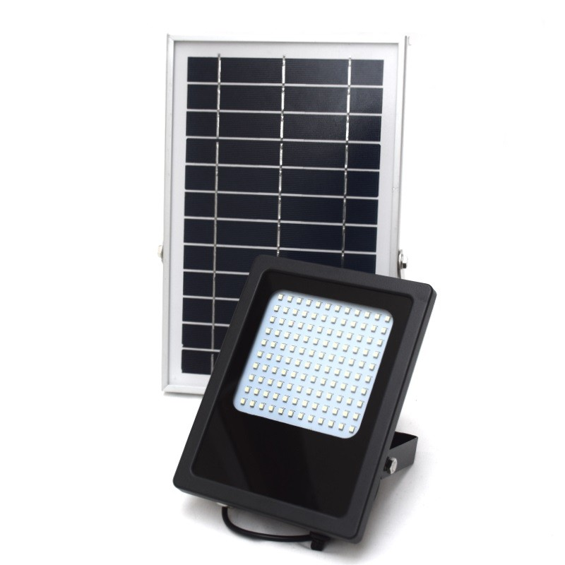 Solar Outdoor lamp with 120 LEDs and Li-ion battery