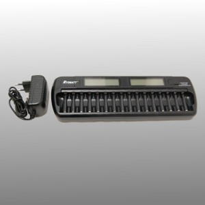 Battery charger 16-channel NiMH and NiCD batteries
