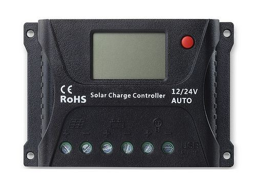 Voltage converter 10A for solar energy systems