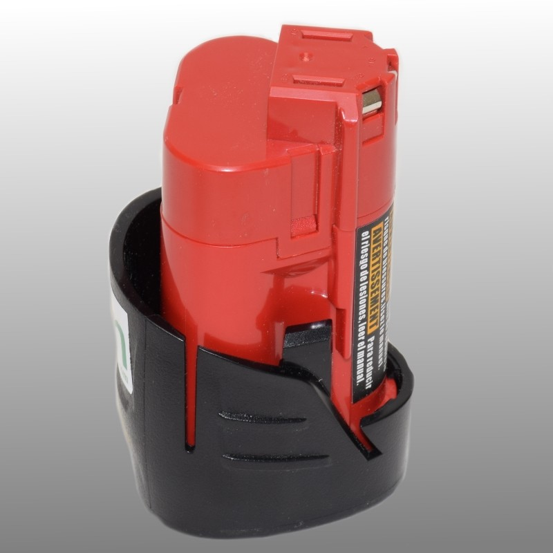 Milwaukee M12 12V 2Ah Li-ion replica battery