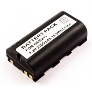 battery for Leica GEB211 7.4V 2200mAh Li-ion