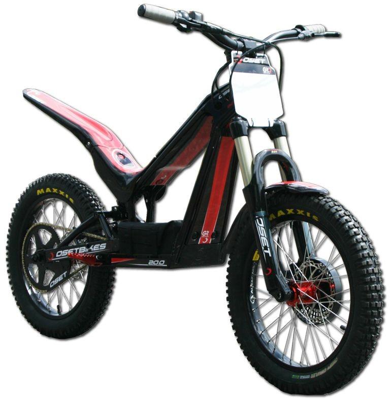 Oset Trial Bike accu 36V 16.8Ah Li-ion reparatie