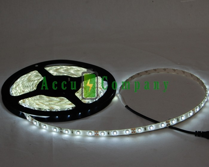 LED Strips 5050 white 60LED / m IP65 5 meters long