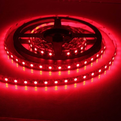 LED Strips 3528 red 60LED / m IP67 5 meters long