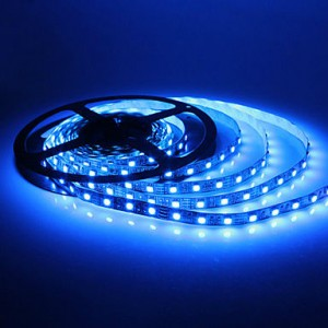 LED Strips 3528 blue 60LED / m IP67 5 meters long