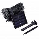 Kerstverlichting Solar lichtketting 100 Led warm wit 10m