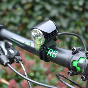 MTB LED Bicycle lighting 1600 Lumen, 3 x LED lamp