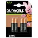 Duracell batterij oplaadbaar AAA 4-blister