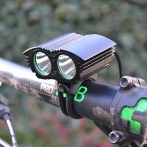MTB, ATB Fietsverlichting 1600 Lumen LED