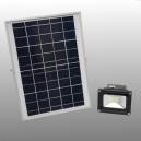 LED Solar buitenlamp 500 Lumen met Li-ion batterij