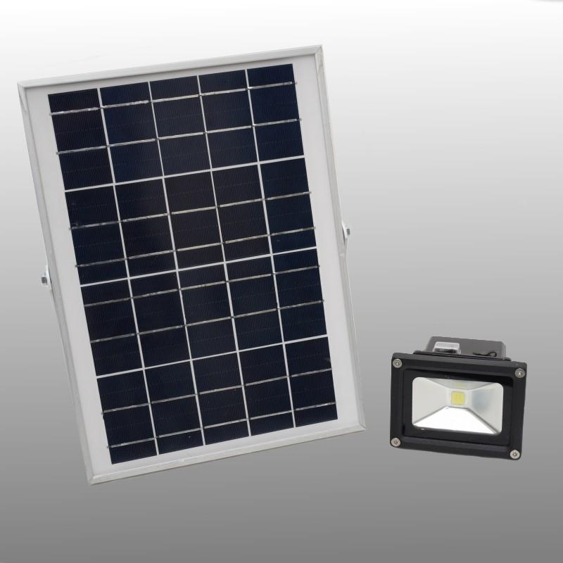 Solar buitenlamp 1 heldere LED 500 Lumen reclamebordverlichting
