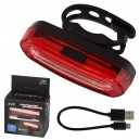 Rechargeable taillight with USB