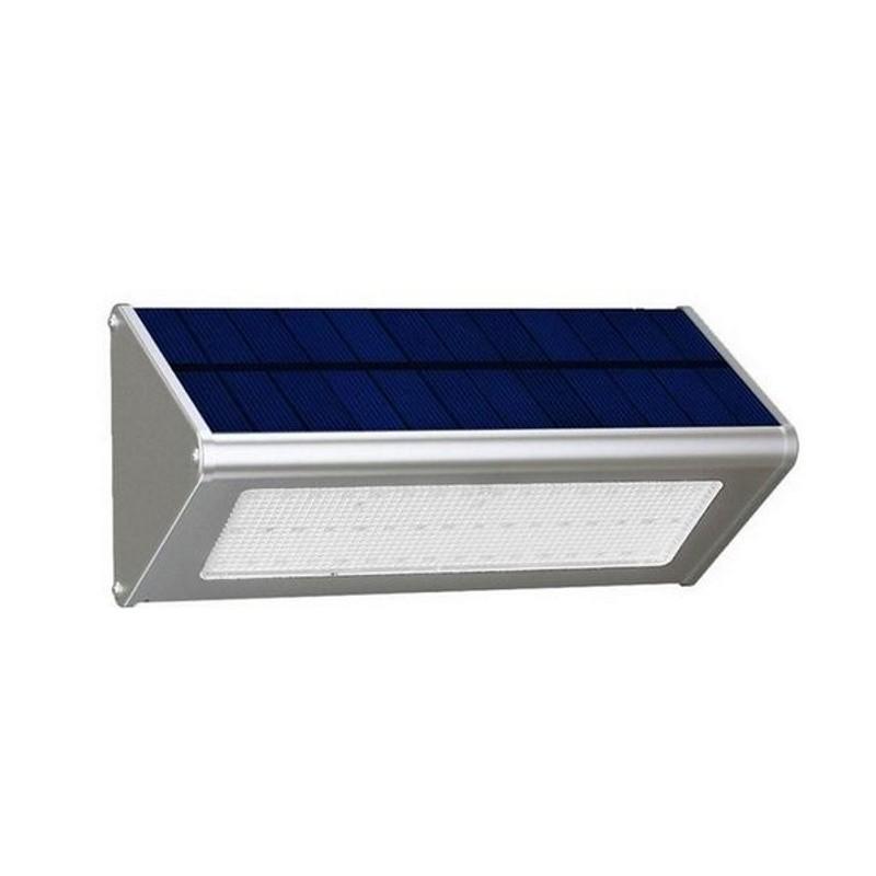 Solar 48 LED wandlamp met radar bewegingssensor