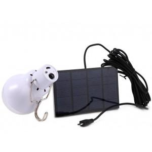 Solar LED lamp bulb reisset