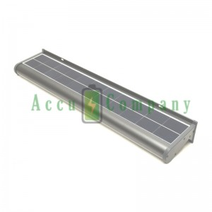 Solar LED reclamebord lamp 60 cm met bewegingssensor