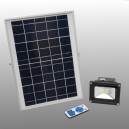 LED Solar outdoor light 550 Lumen with Li-ion battery