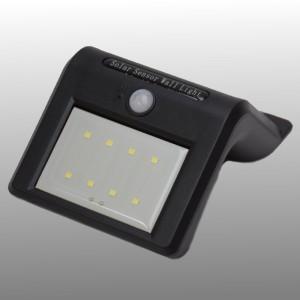 Solar 8 LED wandlamp met bewegingssensor